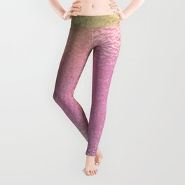 Simply Metallic in Iridescent Rainbow Leggings