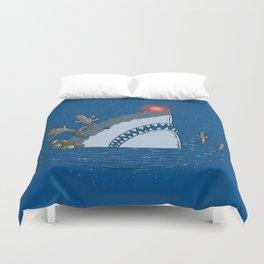 Rudolph Shark Duvet Cover