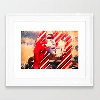 coachella Framed Art Prints featuring Coachella Gypsy by See Foo Plae