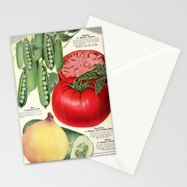 Maule's Seed Book 1933 - Veg Stationery Cards