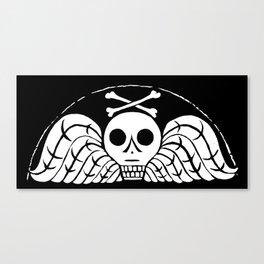 Death's Head Canvas Print