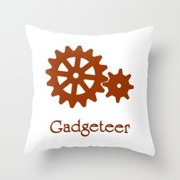 Gadgeteer Throw Pillow