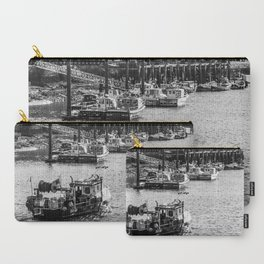 Whitby fishing boat Carry-All Pouch