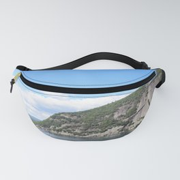 Summer's End: Roger's Rock on Lake George Fanny Pack