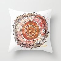 imagine Throw Pillows featuring Imagine  by rskinner1122