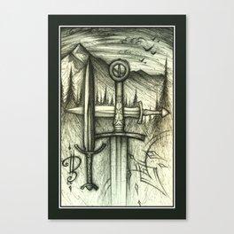 Northwinds Winding Canvas Print