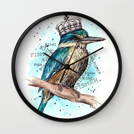 KING-Fisher Wall Clock