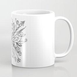Modern Snowflake 2 Coffee Mug
