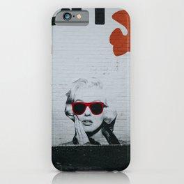 Urban Marylin Monroe Graffiti Art iPhone Case