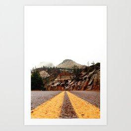 """The Road"" Art Print"