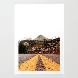 """The Road"" Art Print"