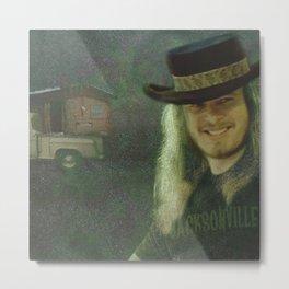 Ronnie van Zant Metal Print