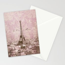 romantic Paris Stationery Cards