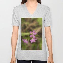 Filthy Flora - Fine Art Flower Photo Unisex V-Neck
