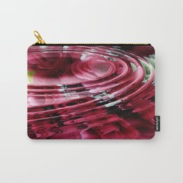 Aquatic Roses Carry-All Pouch
