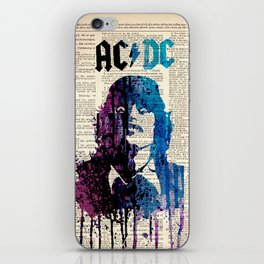 Hard rock art on dictionary #young iPhone Skin