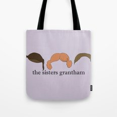 The Sisters Grantham: Downton Abbey Tote Bag