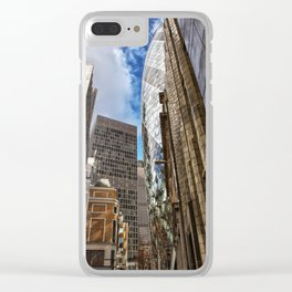 London street Clear iPhone Case