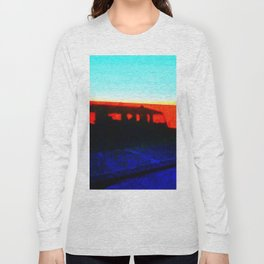 Landrover in shadow Long Sleeve T-shirt