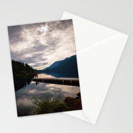 lake crescent, olympic national park. washington Stationery Cards