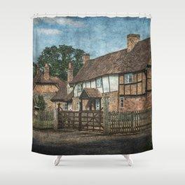 An Oxfordshire Village Shower Curtain