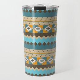 navajo pattern 3 Travel Mug