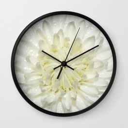 Delicate Flower Wall Clock