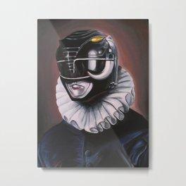 Portrait Of A Black Ranger Metal Print
