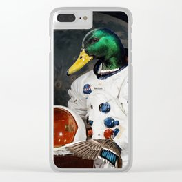 Duck Armstrong Clear iPhone Case