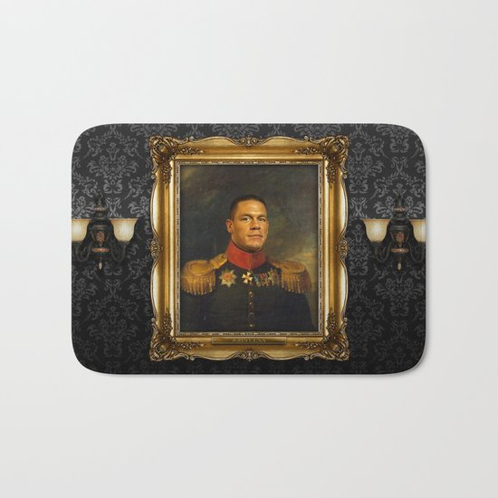 John Cena - replaceface Bath Mat