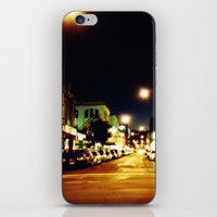 cuba iPhone & iPod Skins featuring Cuba Street by Curious Yellow