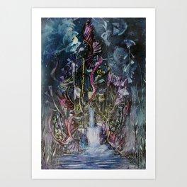 Waterfall of Wishes Art Print