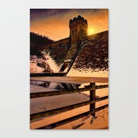dark tower Canvas Prints featuring The Dark Tower by Deltic Digital Imaging