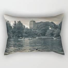 Esplanade Kayak Rectangular Pillow