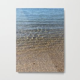 Sand to Sea at Little Bay Metal Print