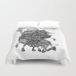 the wandering library 2 Duvet Cover