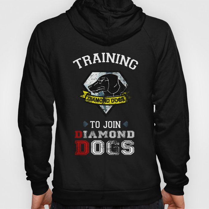 Training to join Diamond Dogs Hoody