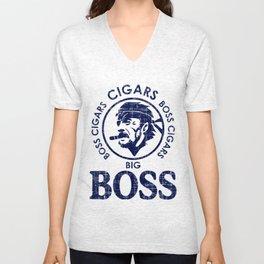 Big Boss Cigars Unisex V-Neck