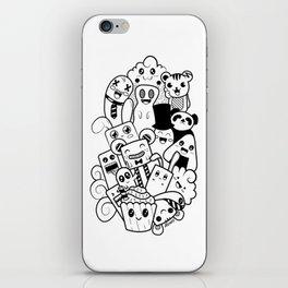 Doodle Kawaii iPhone Skin