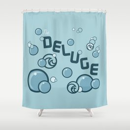 Deluge Shower Curtain