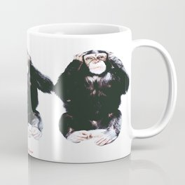 The three wise monkeys Coffee Mug