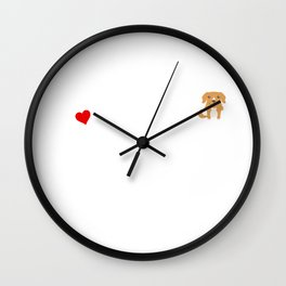 A Life Without A Toller Is Like I Have No Idea Super Cute And Funny Dog Gift Idea Wall Clock