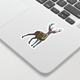 deer vanilla Sticker