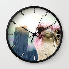 Ostracized in the City Wall Clock