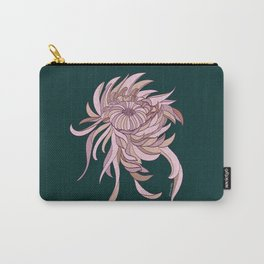 Night Chrysanthemum Carry-All Pouch