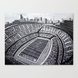 Chicago Bears Soldier Field Canvas Print