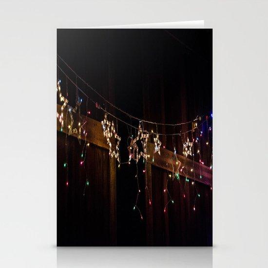 Star lights  Stationery Cards