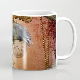 Steampunk, awesom steampunk dolphin Coffee Mug