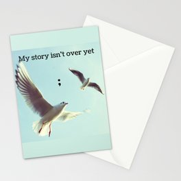 My Story Isn't Over Yet ; Stationery Cards