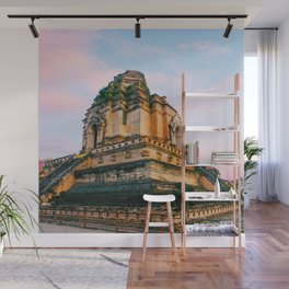 Buddhist Temple in Chiang Mai Fine Art Print Wall Mural
